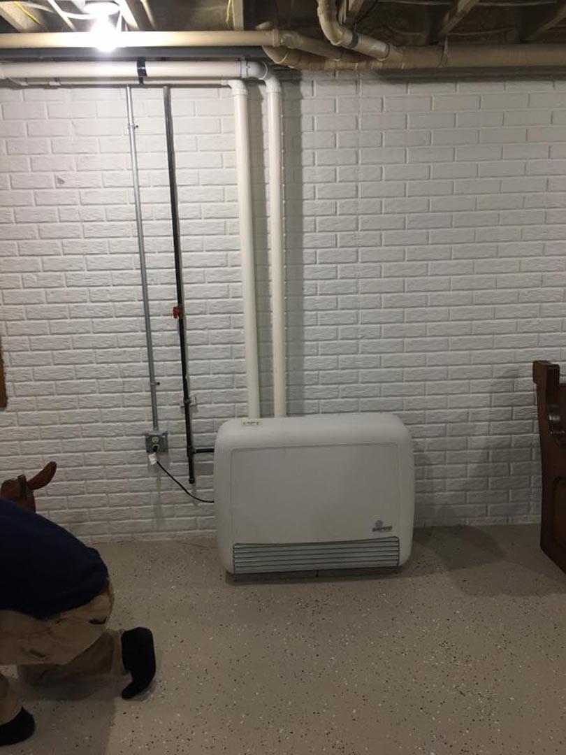 High Eff Heater Warm Your Basement Three T S Plumbing